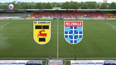 Video Sc Cambuur Pec Zwolle Omrop Fryslan